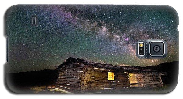 Cunningham Cabin After Dark Galaxy S5 Case
