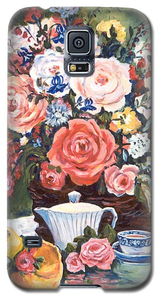 Cup And Saucer Galaxy S5 Case