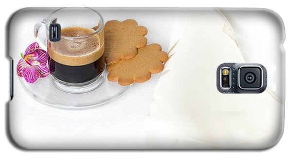Galaxy S5 Case featuring the photograph Cup Of Espresso by Yelena Rozov