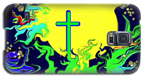 Cup Of Salvation Galaxy S5 Case by Yvonne Blasy