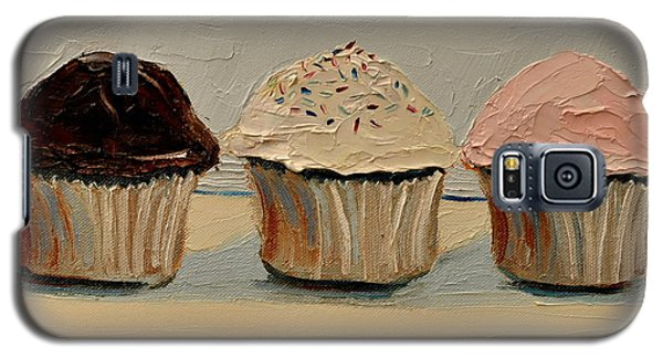 Galaxy S5 Case featuring the painting Cupcake by Lindsay Frost
