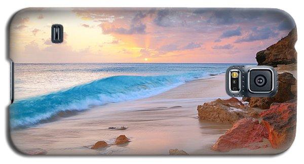 Cupecoy Beach Sunset Saint Maarten Galaxy S5 Case