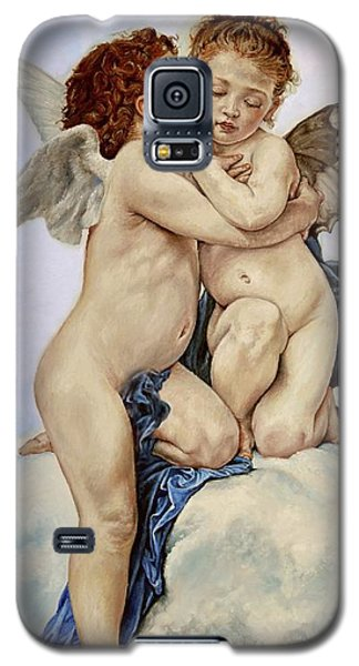 Cupid And Psyche Reproduction William Adolphe Bouguereau  Galaxy S5 Case