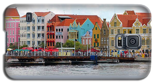 Curacao Willemstad Panorama Galaxy S5 Case
