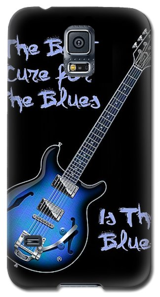 Cure For The Blues Shirt Galaxy S5 Case
