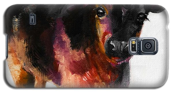 Buster The Calf Painting Galaxy S5 Case