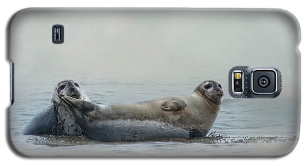 Galaxy S5 Case featuring the photograph Curious Onlookers by Robin-lee Vieira