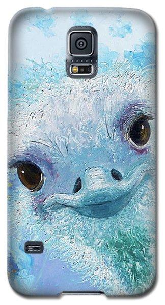Curious Ostrich Galaxy S5 Case