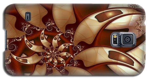Curl Around Galaxy S5 Case by Michelle H