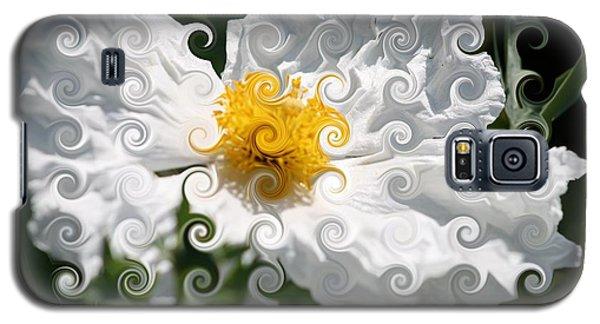 Curlicue Fantasy Bloom Galaxy S5 Case