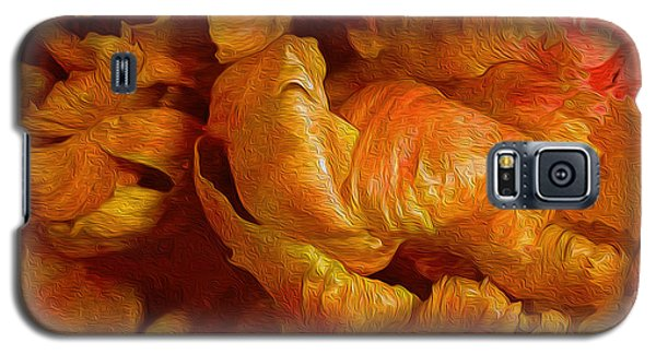 Curling Tulip Abstract 21  Galaxy S5 Case