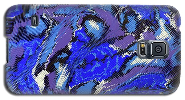 Galaxy S5 Case featuring the painting Currents And Tides  by Cathy Beharriell