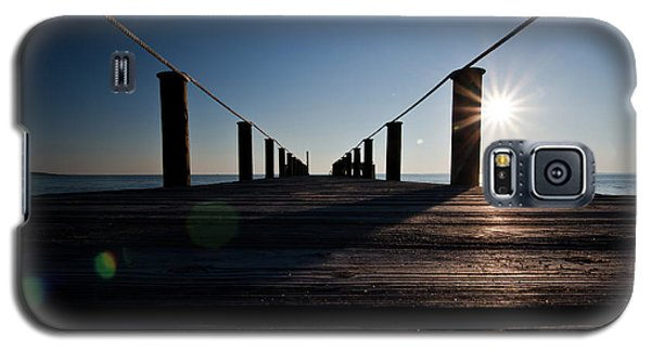 Currituck Sunset Galaxy S5 Case by David Sutton