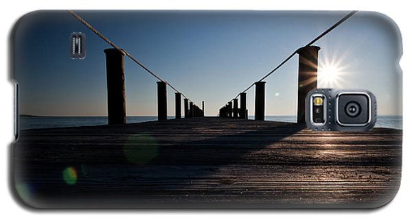 Currituck Sunset Galaxy S5 Case