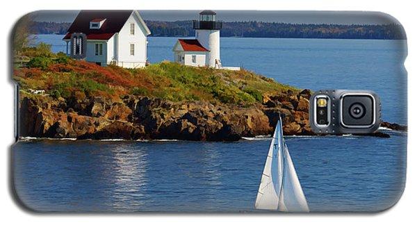 Curtis Island Lighthouse - D002652b Galaxy S5 Case