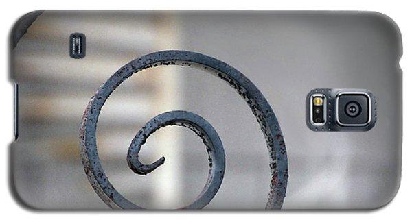 Curve Of Iron Galaxy S5 Case