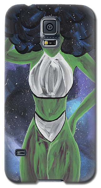Curves Out Of This World Galaxy S5 Case by Cyrionna The Cyerial Artist