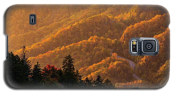 Smoky Mountain Roads Galaxy S5 Case