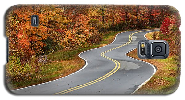 Curvy Road In The Mountains Galaxy S5 Case