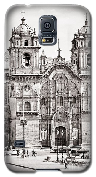 Cusco Cathedral Galaxy S5 Case by Darcy Michaelchuk