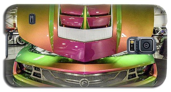 Galaxy S5 Case featuring the photograph Custom Camaro by Randy Scherkenbach