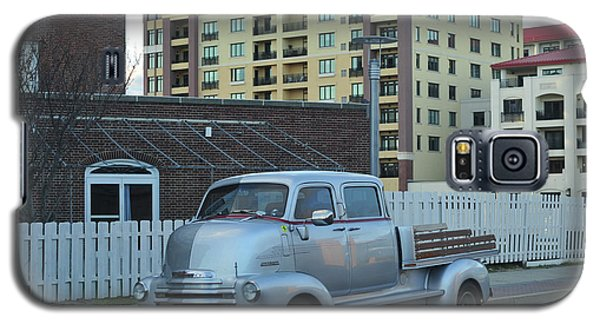 Galaxy S5 Case featuring the photograph Custom Chevy Asbury Park Nj by Terry DeLuco