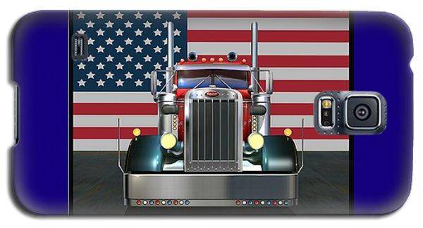 Truck Galaxy S5 Case - Custom Peterbilt 2 by Stuart Swartz