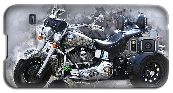 Customized Harley Davidson Galaxy S5 Case