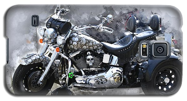 Customized Harley Davidson Galaxy S5 Case