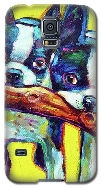Cute Boston Terriers Galaxy S5 Case by Robert Phelps