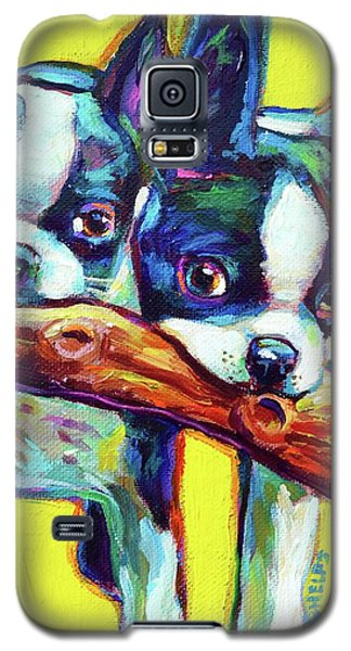 Cute Boston Terriers Galaxy S5 Case