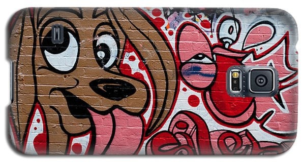 Galaxy S5 Case featuring the painting Cute Graffiti Dog by Yurix Sardinelly