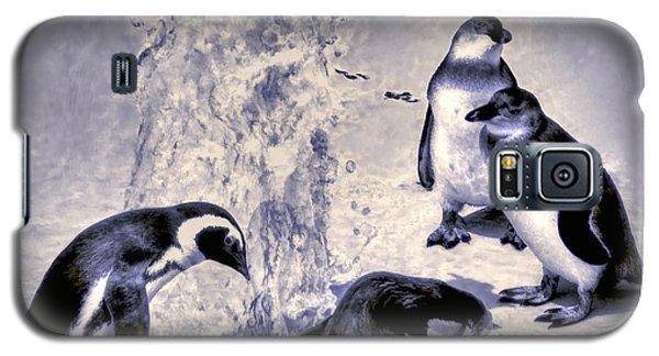 Cute Penguins Galaxy S5 Case