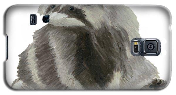 Cute Raccoon Galaxy S5 Case