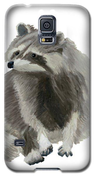 Cute Raccoon Galaxy S5 Case