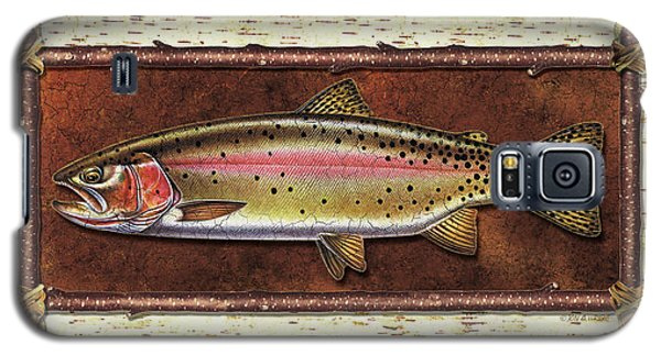 Trout Galaxy S5 Case - Cutthroat Trout Lodge by JQ Licensing