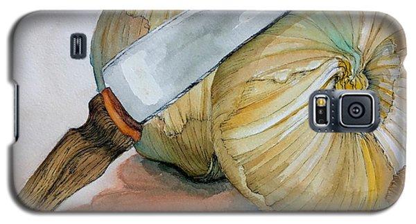 Cutting Onions Galaxy S5 Case