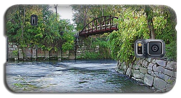 Cuyahoga River At Peninsula Galaxy S5 Case