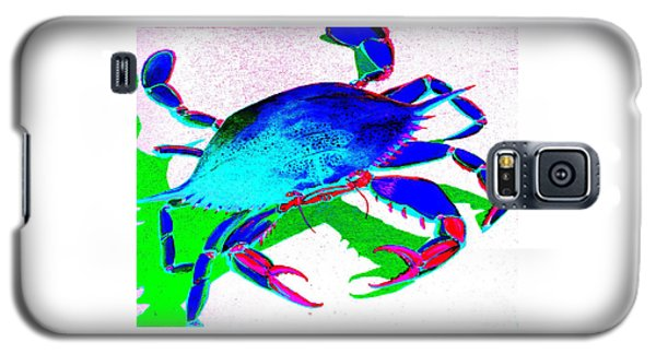 Cyan Crab Galaxy S5 Case