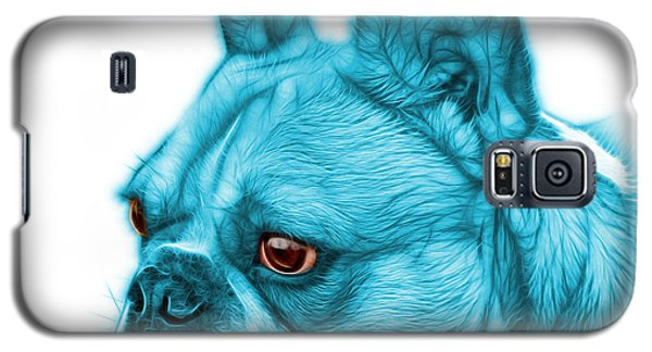 Cyan French Bulldog Pop Art - 0755 Wb Galaxy S5 Case