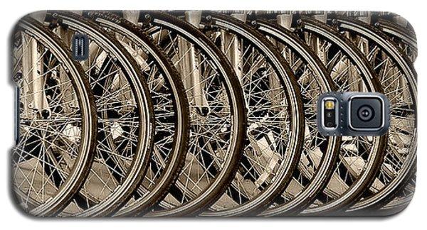 Galaxy S5 Case featuring the photograph Cycles by Joe Bonita