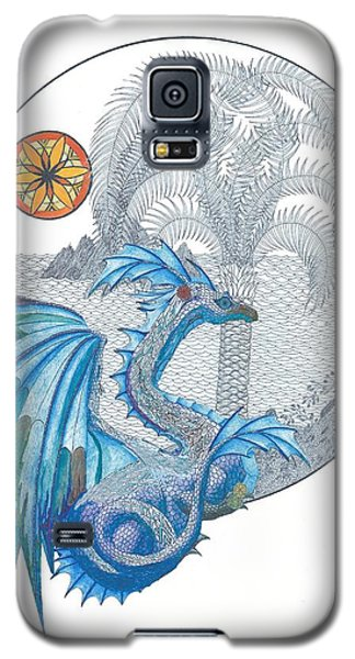 Galaxy S5 Case featuring the painting Cymru by Dianne Levy