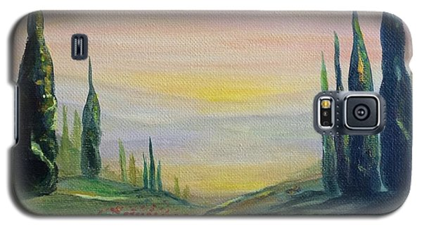 Cypress Dawn Landscape Galaxy S5 Case