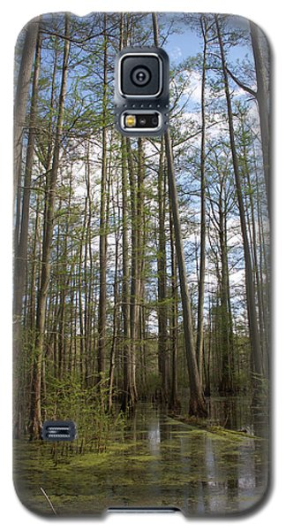 Galaxy S5 Case featuring the photograph Cypress Pond by Dylan Punke