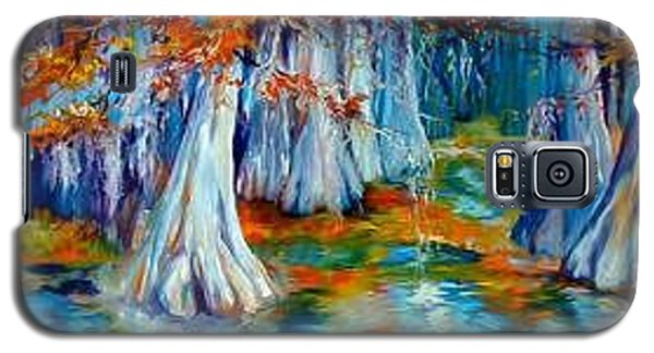 Cypress Trees Along The Bayou Galaxy S5 Case