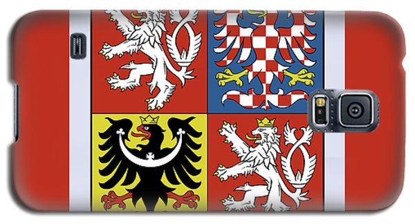 Czech Republic Coat Of Arms Galaxy S5 Case by Movie Poster Prints