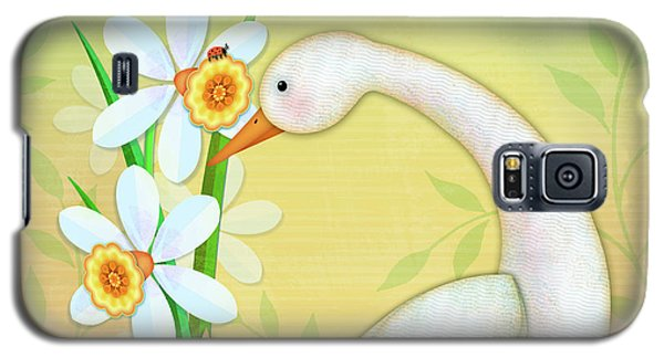 D Is For Duck And Daffodils Galaxy S5 Case