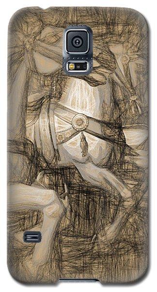 Da Vinci Carousel Galaxy S5 Case