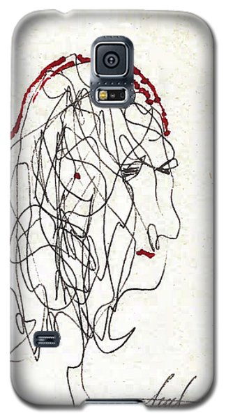 Da Vinci Drawing Galaxy S5 Case