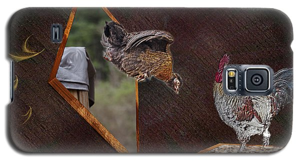 Dad Look I Am Jumping Galaxy S5 Case by Donna Brown